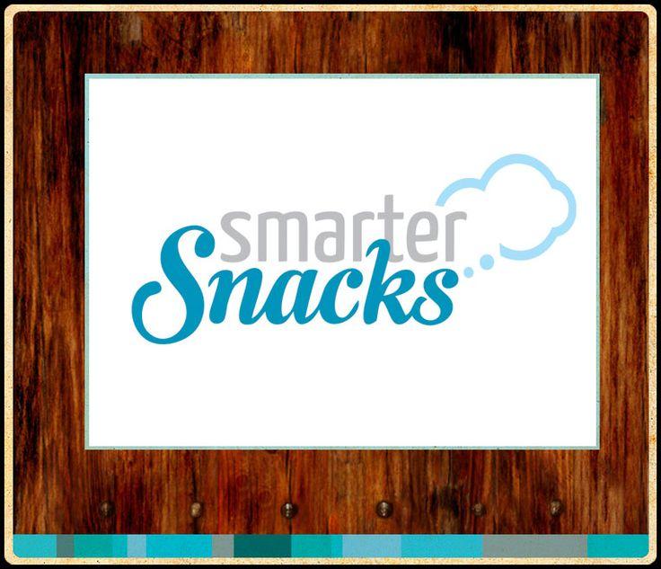 Smarter Snacks: Logo Design #logo #identity #typography