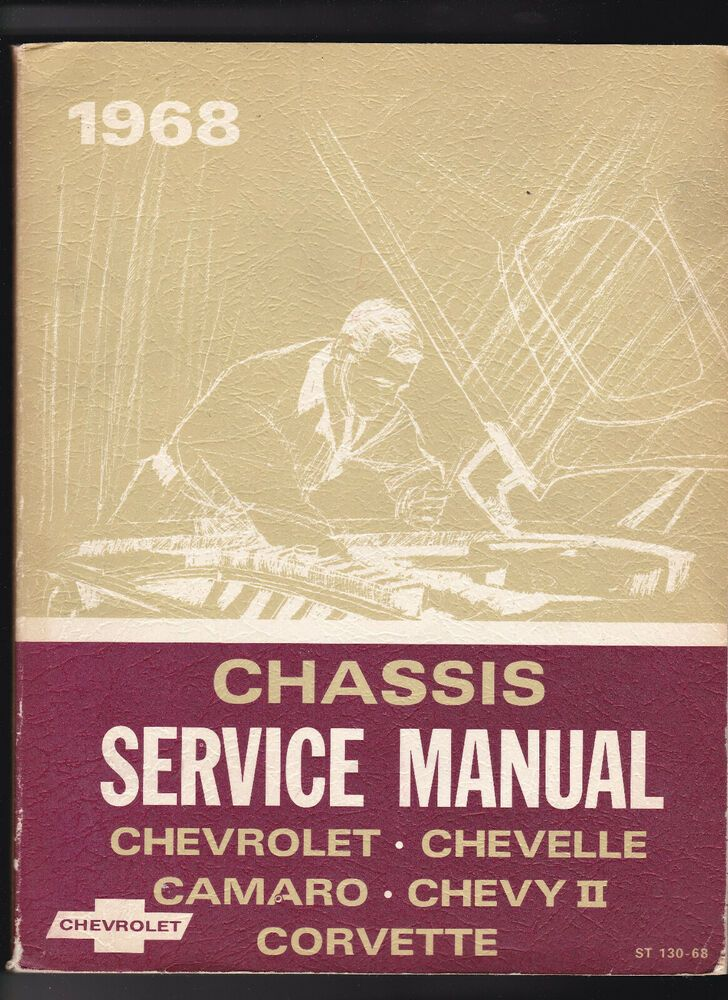 Advertisement eBay) 1968 Chevrolet Chassis Service Manual