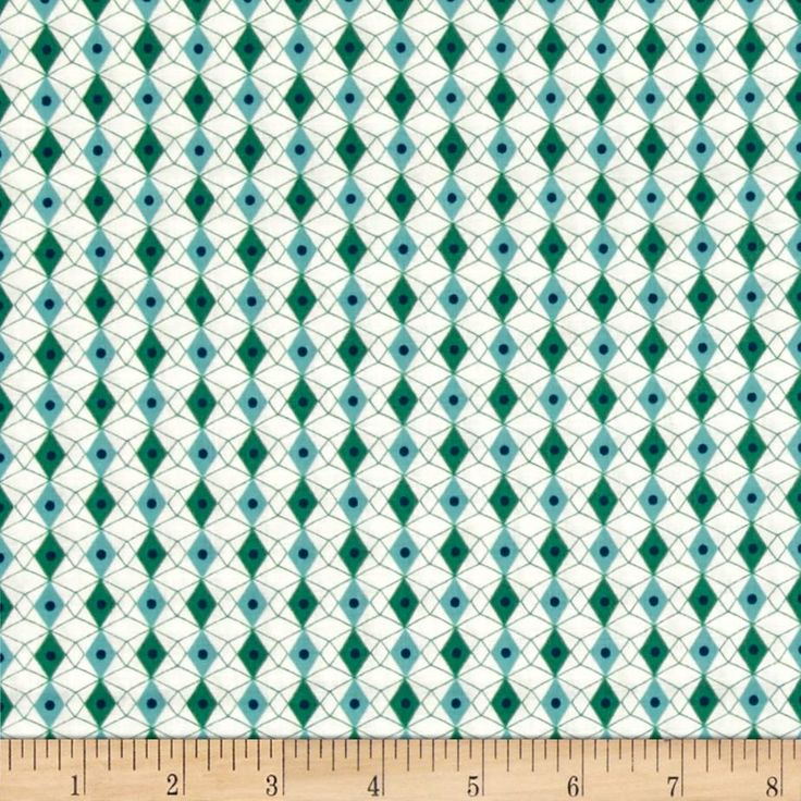 cotton steel rotary club facets bluegreen from designed by kimberly kight for cotton steel this cotton print is perfect for quilting apparel and home