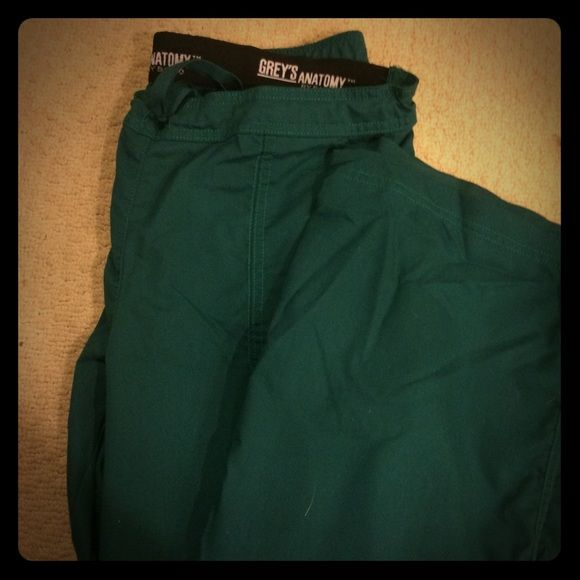 Greys Anatomy Scrub Pants Used size L Greys Anatomy green scrub pants. Worn once, like new. Please let me know if you have questions Greys Anatomy Pants Track Pants & Joggers