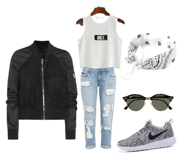 """""""Drake tour outfit"""" by myliaarie on Polyvore featuring Rick Owens, Ray-Ban, DRAKE, views and 60secondstyle"""