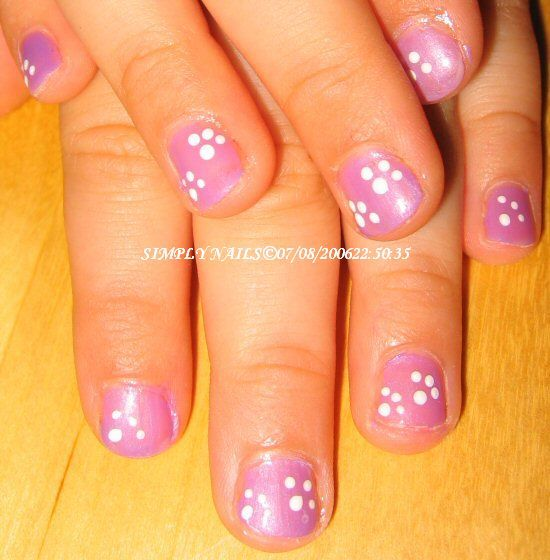 little girl nail art - Little Girl Nail Design Ideas