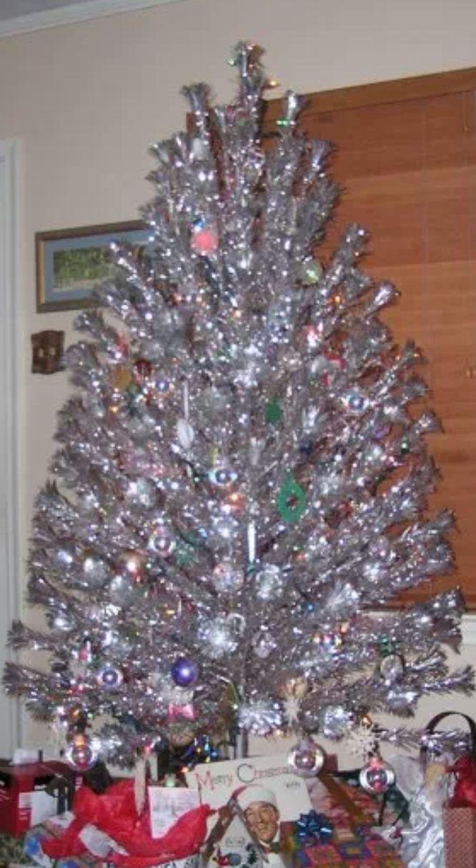 294 best Aluminum Christmas Trees images on Pinterest | Christmas ...