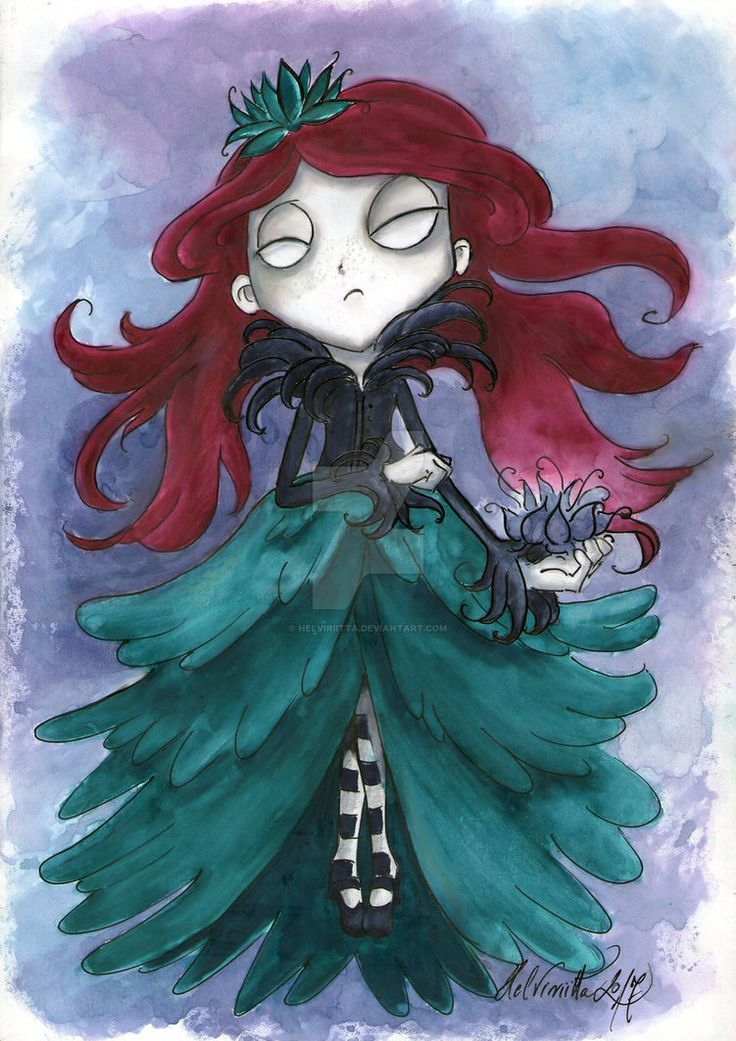 A bit different Shadow Wendy by Helviriitta.deviantart.com on @DeviantArt