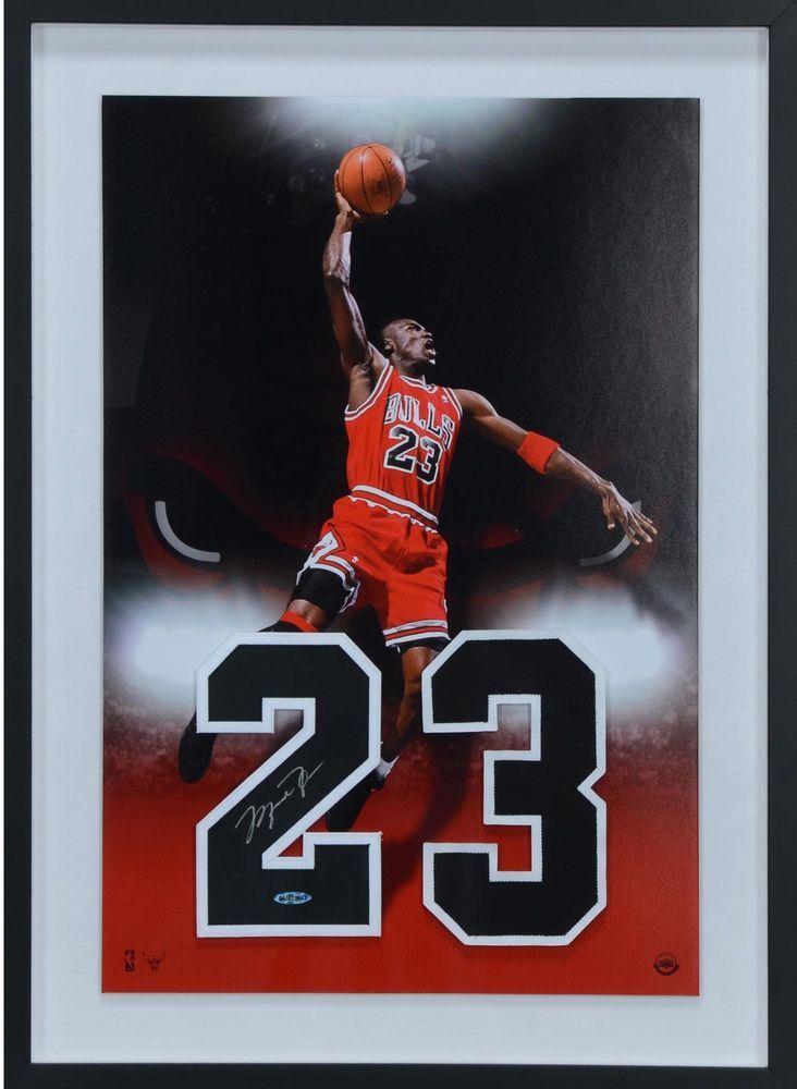 96042adf65911d Autographed Michael Jordan Bulls 20x28 Jersey Item 8660162   sportsmemorabilia  autograph  basketballjersey