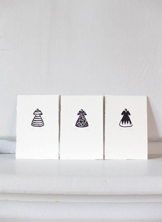 Robe cercles robe cintre femme motif mode gravure par auboutdubanc