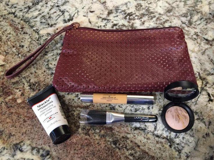 "Laura Geller ""FLAWLESS IN A FLASH"" Gift Set NEW Medium Concealer Foundation SET  #LauraGeller"