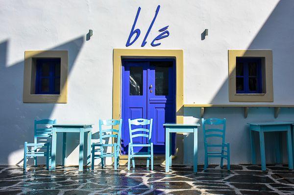 Cafe Ble, Naoussa Paros - Missing Conversations