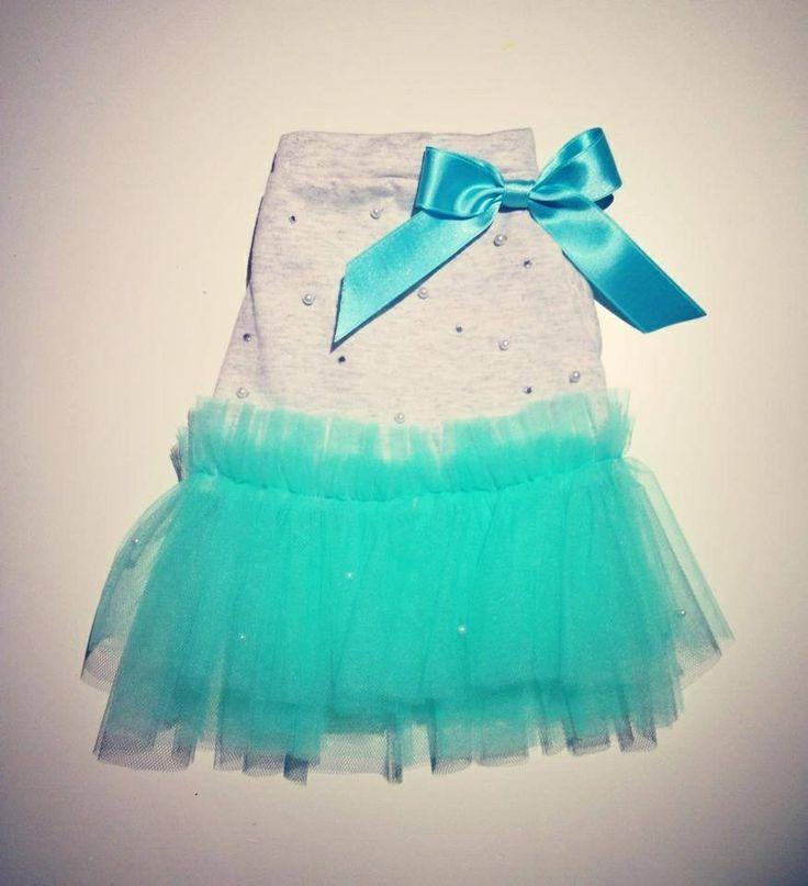 Sparkling dress mint version  Shop at: bau@sparklingdog.it #sparklingdog #weloveyourpet #sosweetsochiccollection