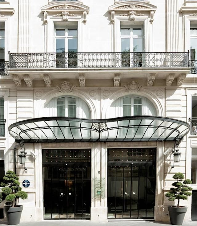 17 best images about awning on pinterest plaza hotel ace hotel and wrought - La maison champs elysees ...
