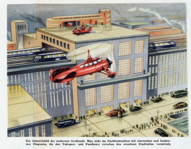 The Future Of Transportation Used To Look So Much More Sensational