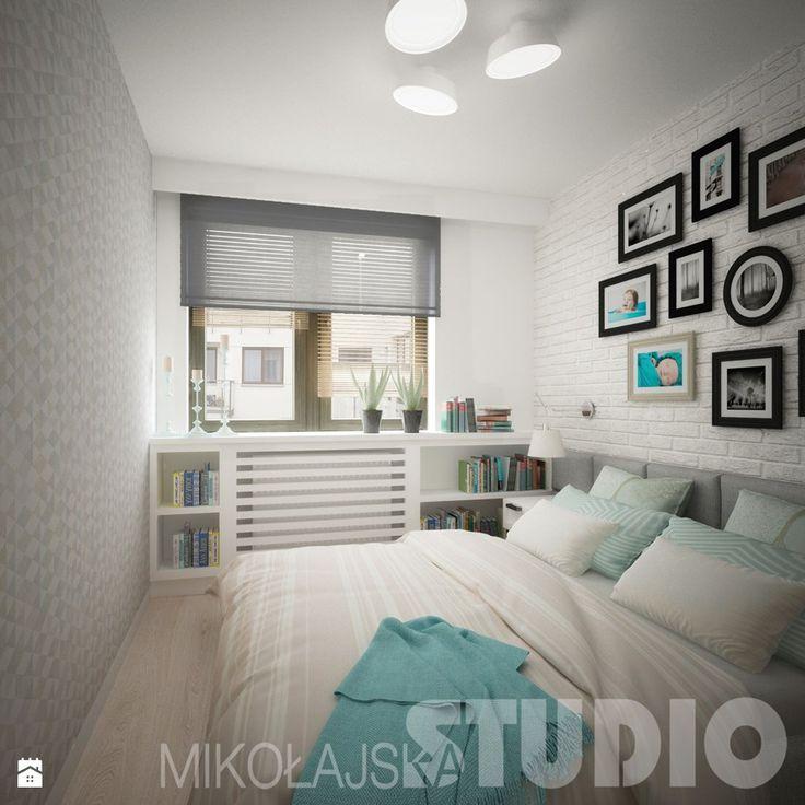 Współczesna sypialnia Sypialnia - zdjęcie od MIKOŁAJSKAstudio