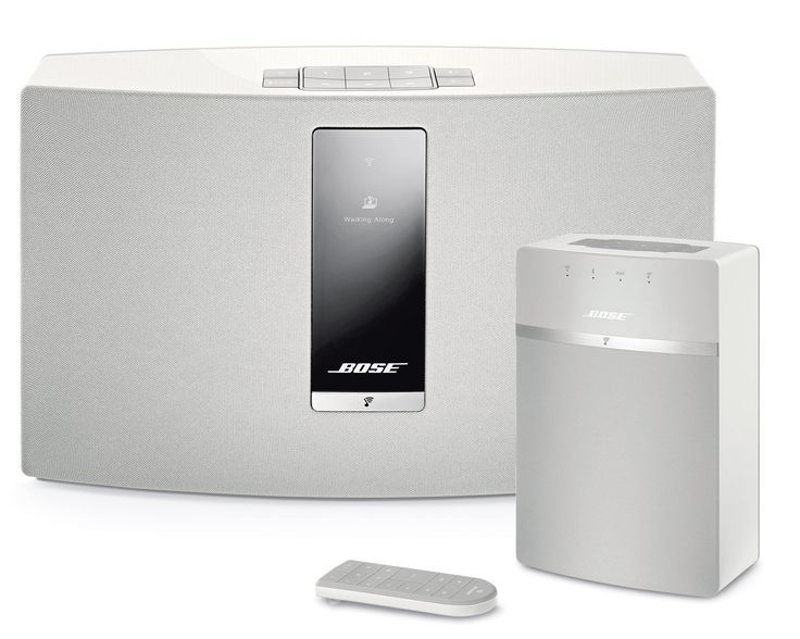Bose SoundTouch 20 and 10 Wireless Music System Bundle 2-Pack White