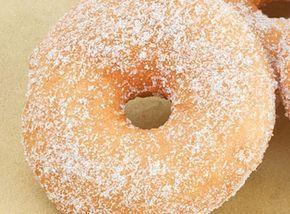 Ντόνατ κανέλας ψημένα στο φούρνο