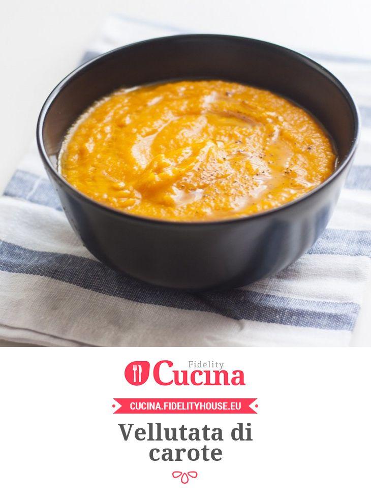 #Vellutata di #carote della nostra utente Chiara. Unisciti alla nostra Community ed invia le tue ricette!