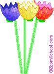 Eggshell Tulips - Enchanted Learning Software