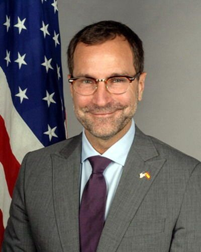 One of 16 new ambassadors to present their papers to Spanish King Juan Carlos in Madrid on Tuesday, the new US ambassador to Spain and Andorra, James Costos, is an animal rights campaigner, a vegetarian and is openly gay.  Read more: http://digitaljournal.com/article/359045