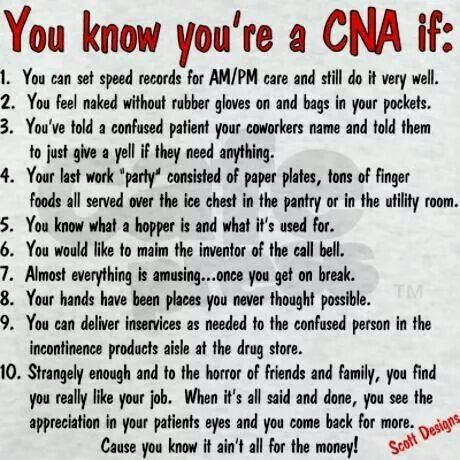 Quotes About Being A Cna Quotesgram