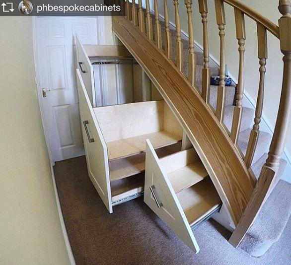 5 Awesome Under Stair Storage Ideas Understairs Storage Stair