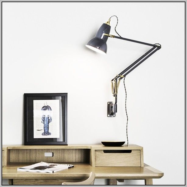 Desk Light Wall Mounted: Best 25+ Wall Mounted Table Ideas On Pinterest