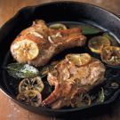 Try the Pan-Seared Pork Chops with Meyer Lemon (Costole di Maiale in Padella) Recipe on Williams-Sonoma.com