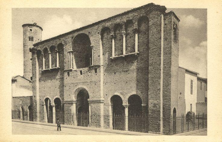 Palace of Theodoric, Ravenna, Italy - Flickr by @Striderv [ #ravenna #myRavenna #illustrator #vintage #posters]