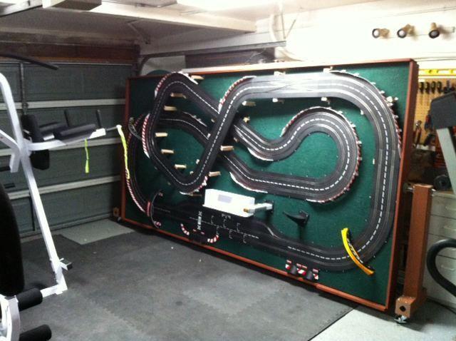 Diy slot car table