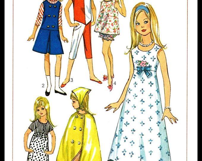 #6 Vintage Wardrobe Pattern For Skipper /& Scooter
