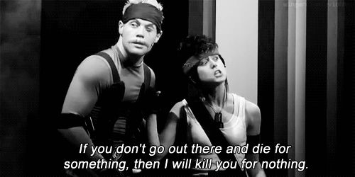 30 day Starkid challenge: Day 6: Favorite line from Starship? I have two and this is one of them...oh my gosh Taz is awesome!