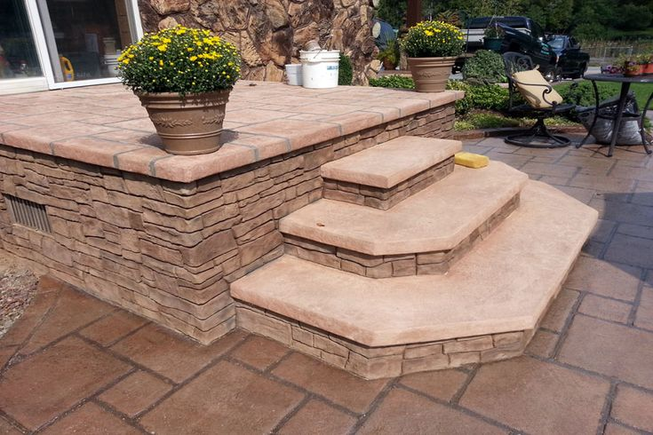 raised concrete decks | elevated decks | house | pinterest ... - Raised Concrete Patio Ideas