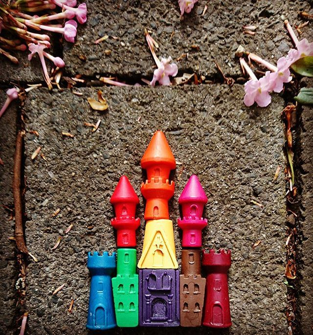 We're so proud of our new castle crayons...double tap if you love them as much as we do  They'll be available in our Etsy store later this week!  #tintacrayons #fairy #castle #jigsaw #educationaltoys #education #fun #colourful #colour #draw #girls #fairycastle #nontoxic #natural #ecofriendly #kidstoys #kidsgifts #crayons #madeinmelbourne #handmadeaustralia #melbournemade #melbournemakers