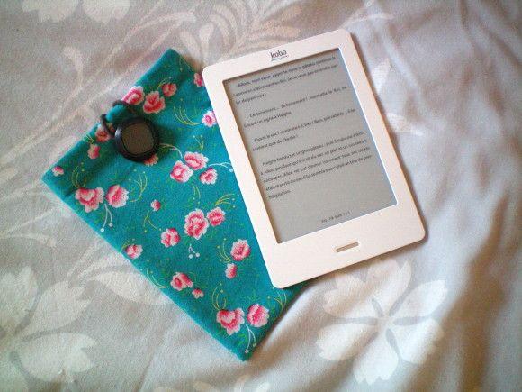 DIY coudre une pochette pour ma kobo, ma liseuse électronique!