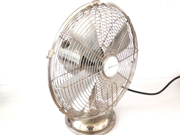 Retro Look Metal Fan Aloha Breeze Table Fan, Retro Fans, Oscillating Metal Fans, Steampunk by LizzieTishVintage on Etsy