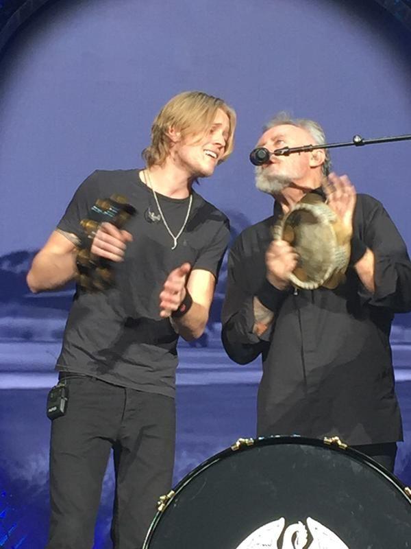 Taken by Heddy @WerkBitch28 London Queen + Adam Lambert concert at O2. Roger