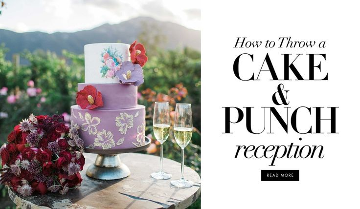 Cake And Punch Reception Decor : 1000+ images about Happily Ever After on Pinterest Emerald green, Emeralds and Emerald green ...