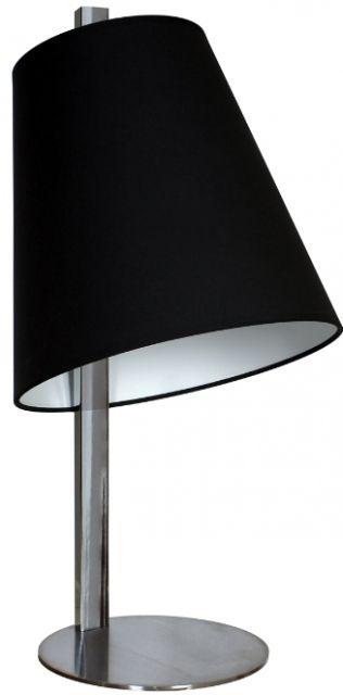 BLACK LAMPA BIURKOWA - elegancka czerń i nowoczesny kształt. #lampa #lampka #Hesmo