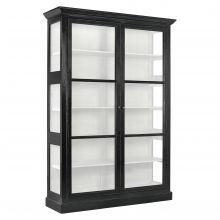 CLASSIC cabinet, double, black