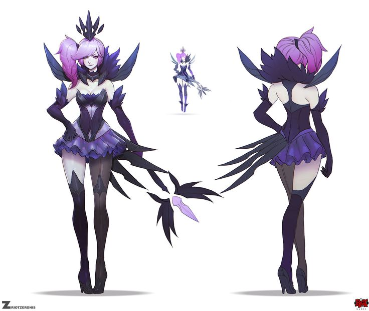 ArtStation - Dark Elementalist Lux, Paul Kwon | League of Legends ...