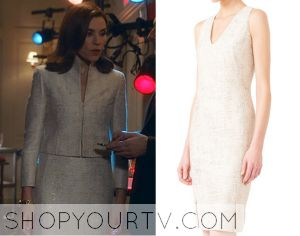 The Good Wife: Season 6 Episode 3 Alicia's Shimmery Dress