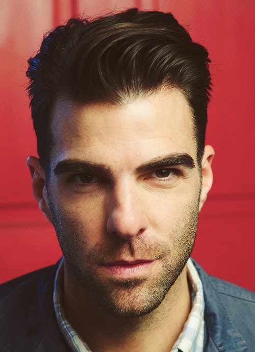 Zachary Quinto. Grand performance to each role played