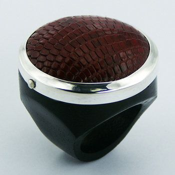 leather silver jewellery - Google Search