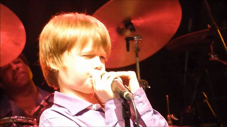 Hoochie Coochie Man by 10 year old Joshua King with the James Cotton Band. Coolest kid in town!