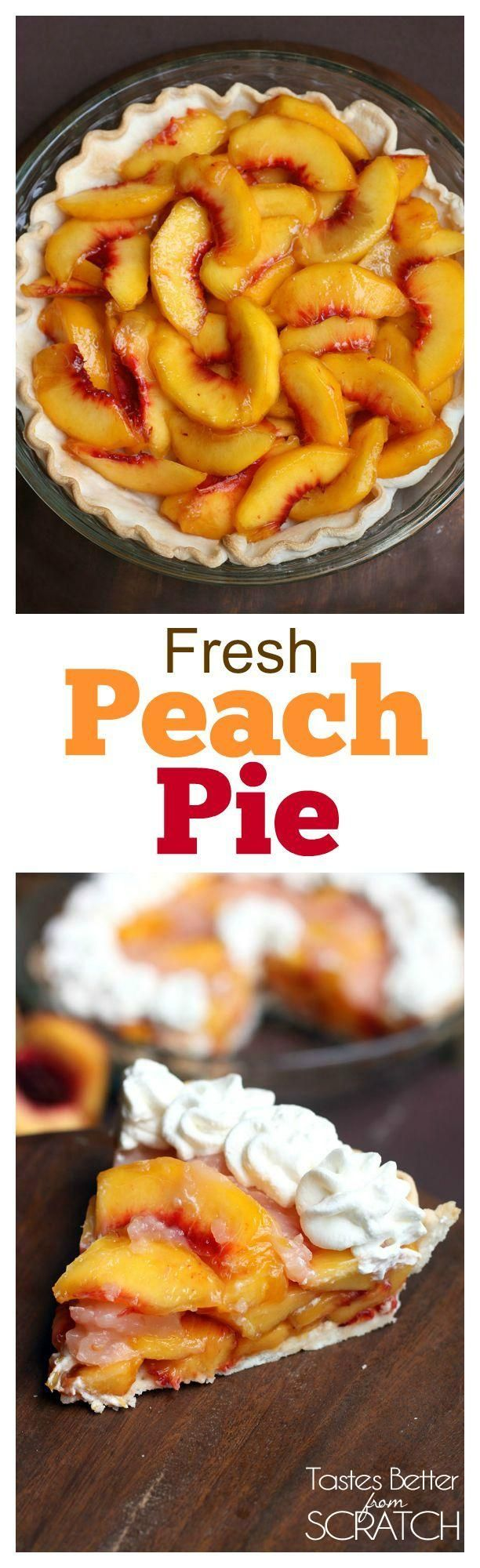 Fresh Peach Pie | Recipe | Peach pie recipes, Pie recipes ...