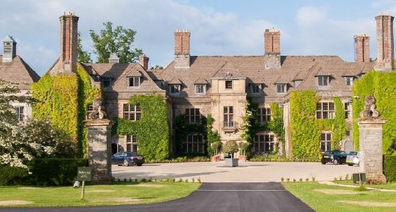 Llangoed Hall, Powy. Stay the night at the former home of Laura Ashley