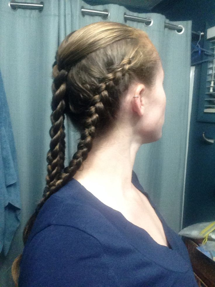 Hair inspired by Lagertha