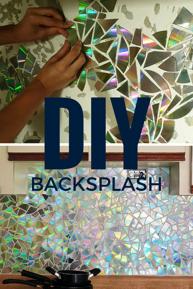 Cheap backsplash ideas genius repurposed backsplash for Cheap backsplash diy