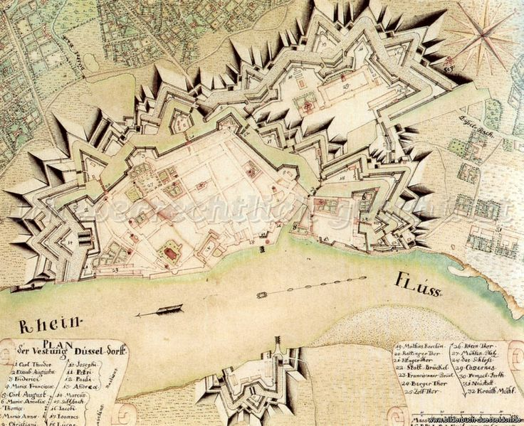 Festung Düsseldorf