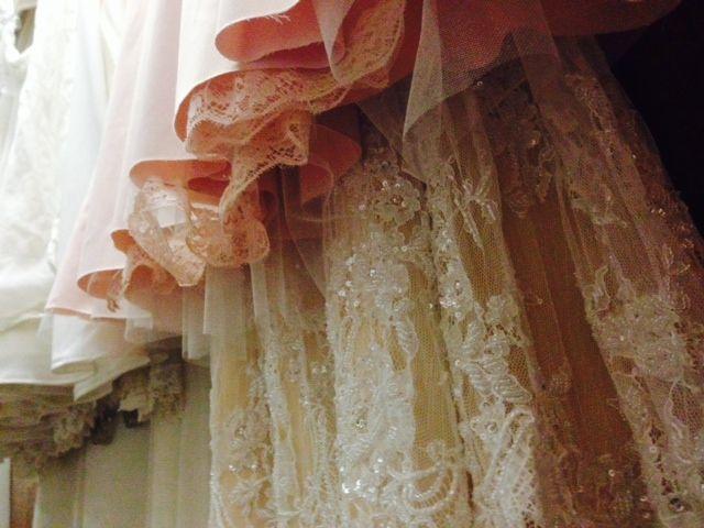 Blush brides & beaded laces #EcoBride