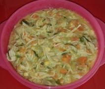 Chicken, Vegetable and Noodle Soup / thermomix
