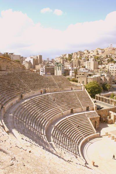 Por donde Gigi vivía también había anfiteatros.